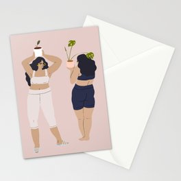 plant dance Stationery Cards