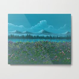 Swiss Bliss Metal Print