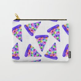 Purple Rainbow Pizza! Carry-All Pouch