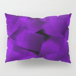 Translucent Stripes of Purple Ribbon Pillow Sham