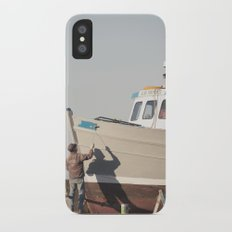 shadow painting... iPhone X Slim Case