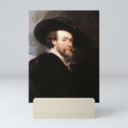 Peter Paul Rubens - Portrait of the Artist Mini Art Print