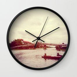 RED BUSH Wall Clock
