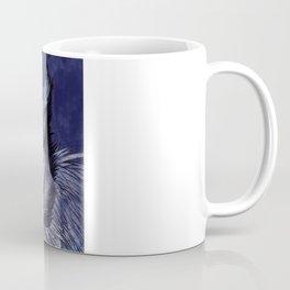 La Sagesse du Hibou (The Blue Owl) Coffee Mug