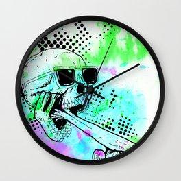 Skater Deadication Wall Clock
