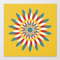 Kaleidoscope Quilt 2 Canvas Print