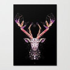 black deer Canvas Print