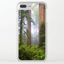 Shinrin-yoku Clear iPhone Case