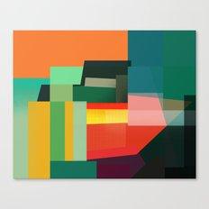Sideways Stacks Canvas Print