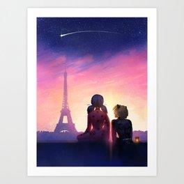 Miraculous in Paris Kunstdrucke