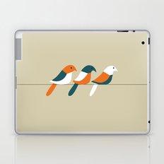 Birds on wire Laptop & iPad Skin