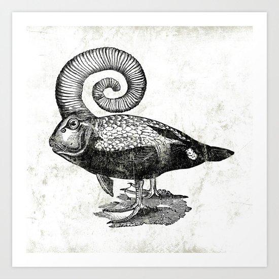 Carpé Duckems Art Print