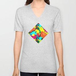 Colorful Mood Unisex V-Neck