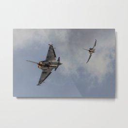 Typhoons - Turn 'n' Burn Metal Print