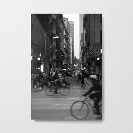 See you in twenty minutes. (Flinders Lane, 2011) Metal Print