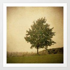 Autumn Breeze Art Print