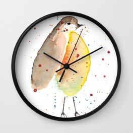 Proud Robin Wall Clock