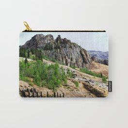 Sunnyside Mill and Rocky Crags Towering Overhead Carry-All Pouch