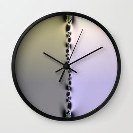 Fractal Space Wall Clock