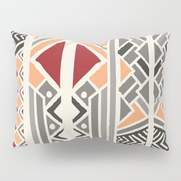 Tribal ethnic geometric pattern 034 Pillow Sham