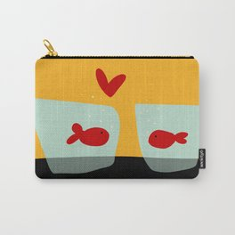 Fishes in love Carry-All Pouch