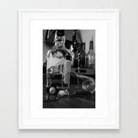 whiskey Framed Art Prints featuring Whiskey by PattavinaPhotography