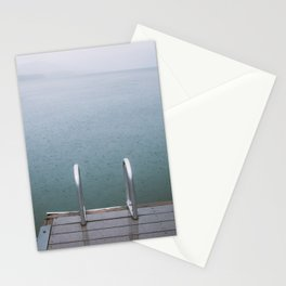 Lake McDonald Rain Stationery Cards