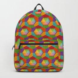 Geometric Rainbow (smaller scale) Backpack
