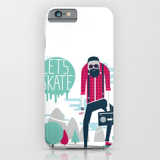 Let's skate  iPhone & iPod Case