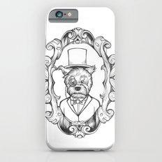 Gilles the dapper Schnauzer Slim Case iPhone 6s