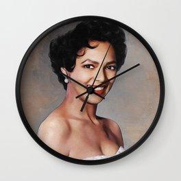Dorothy Dandridge, Hollywood Legend Wall Clock