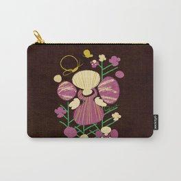 Floral Flower Artprint Carry-All Pouch