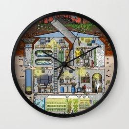 My Bunker Wall Clock