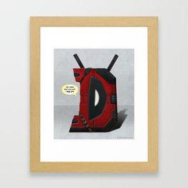 DP Framed Art Print