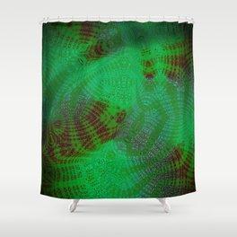 Greener Pattern 11 Shower Curtain