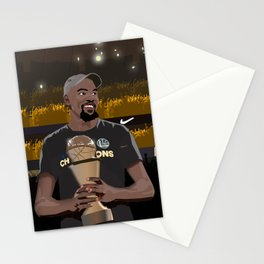 A new king is crowned in the NBA Stationery Cards