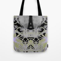 geode Tote Bags featuring Geode 7 by michiko_design