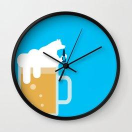 polar beer Wall Clock