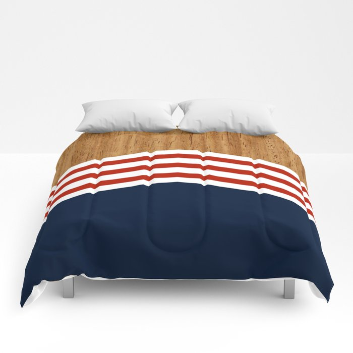 Vintage Rower Ver. 3 Comforters