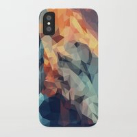 low poly iPhone & iPod Cases featuring Mountain low poly by Li9z