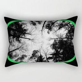 Grey forest Rectangular Pillow