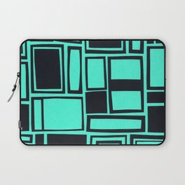 Windows & Frames - Teal Laptop Sleeve