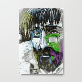 The Final Colour Metal Print