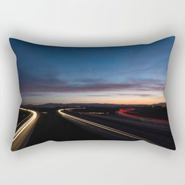 Lights Rectangular Pillow