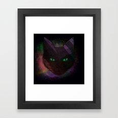 Watching Cat Framed Art Print