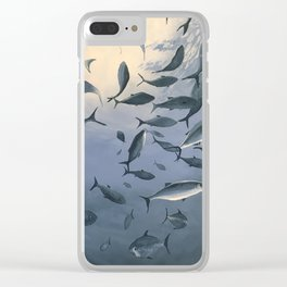 School of Fish 2 Clear iPhone Case