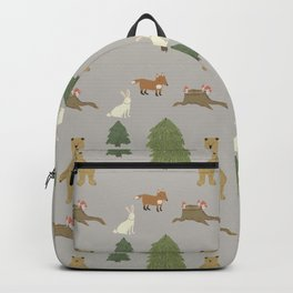 Woodland animals pattern Backpack