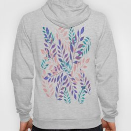 Abstract Leaf Arrangement (African Colors) Hoody