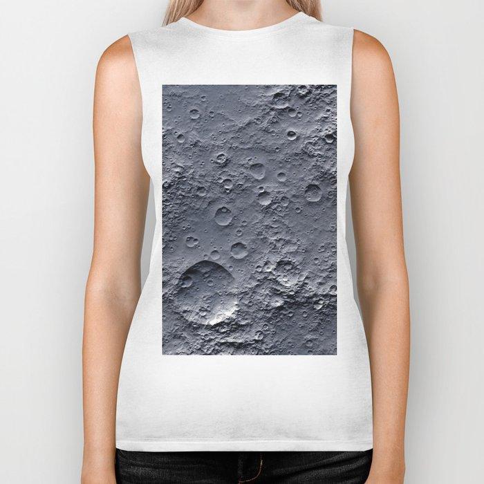 Moon Surface Biker Tank