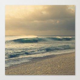Waves of Light Canvas Print